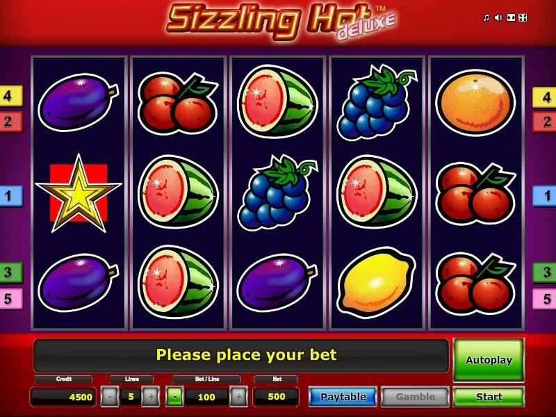 Novoline Jackpot Sizzling Hot